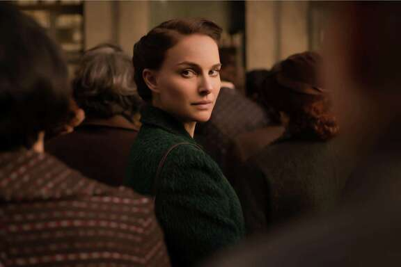 """This image released by Focus Features shows Natalie Portman in a scene from """"A Tale of Love and Darkness.""""  Portman also wrote and directed the film. (Ran Mendelson/Focus Features via AP)"""