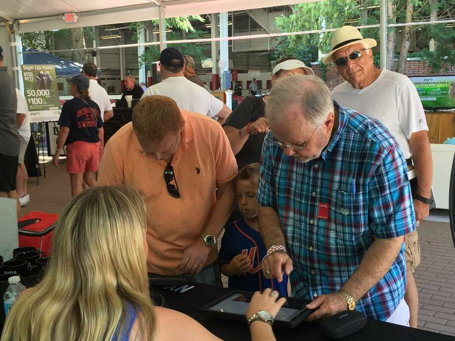 Were you Seen at the NYRA Bets Lounge at the Saratoga Race Course in Saratoga Springs on Saturday, Aug. 20, 2016? Photo: Brittany Harran / Ed Lewi Associates