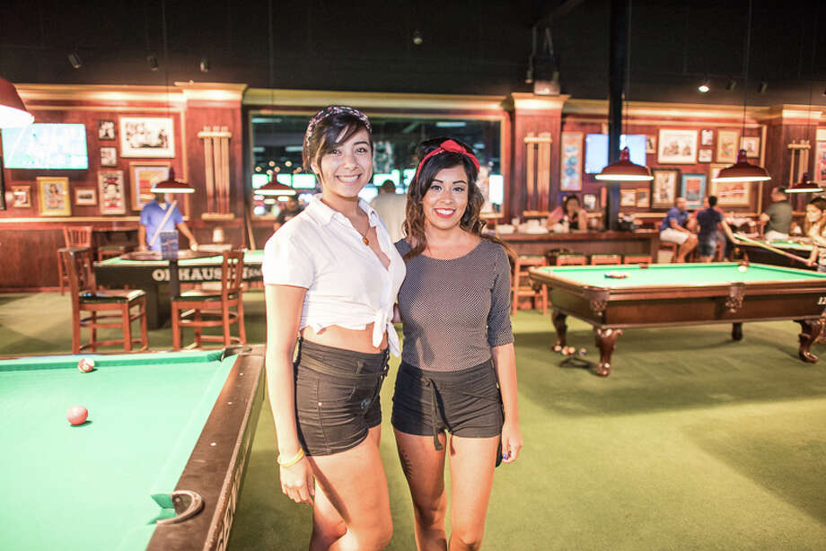 Local noir fans were at Fast Eddies Friday night, Aug. 19, 2016, for a fab Pin-Up Girl Party. Photo: By Chavis Barron For MySA