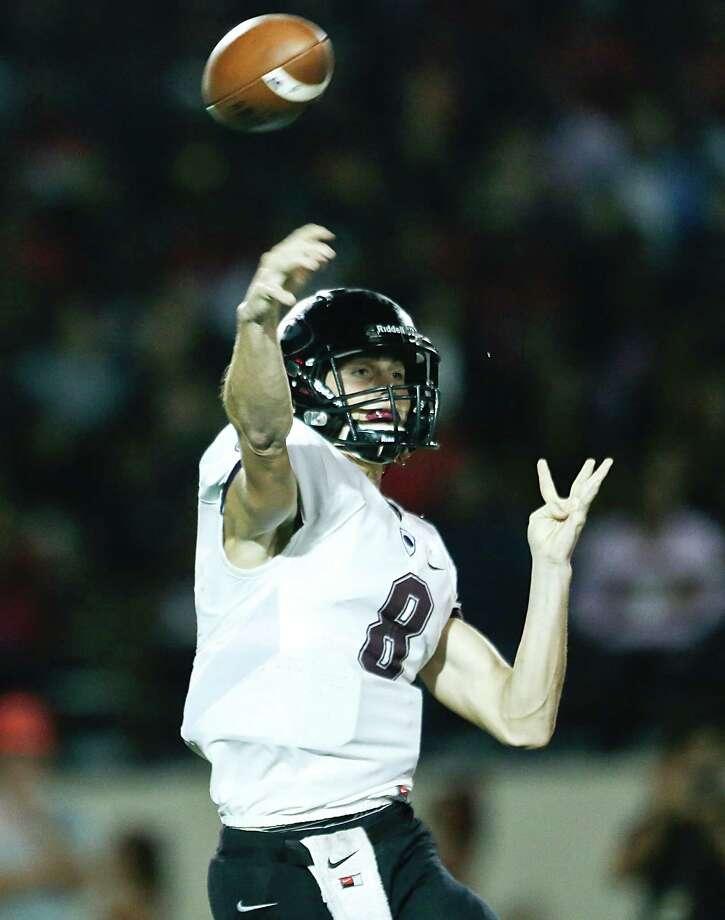 Pearland's Connor Blumrick is among the highest-touted Houston-area quarterback talents entering this season. Photo: Thomas B. Shea / © 2015 Thomas B. Shea