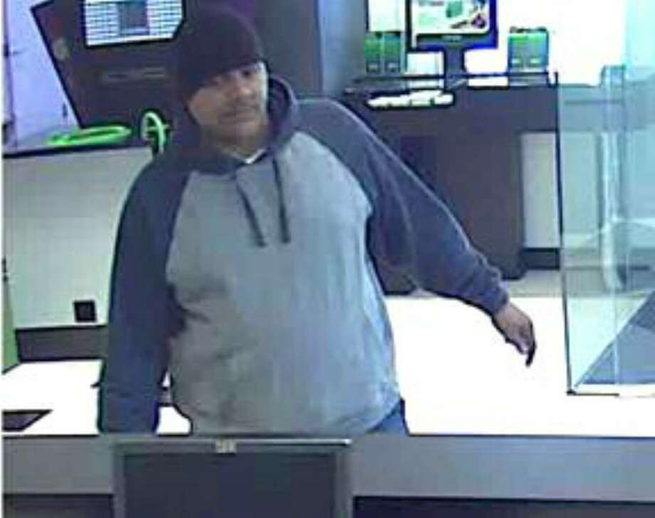 At about 4 p.m. Friday, a man held up a teller at TD Bank on Charles Street in Westport. Anyone with information is asked to call the Westport Police Department at 203-341-6000. Photo: Contributed Photo / Westport News