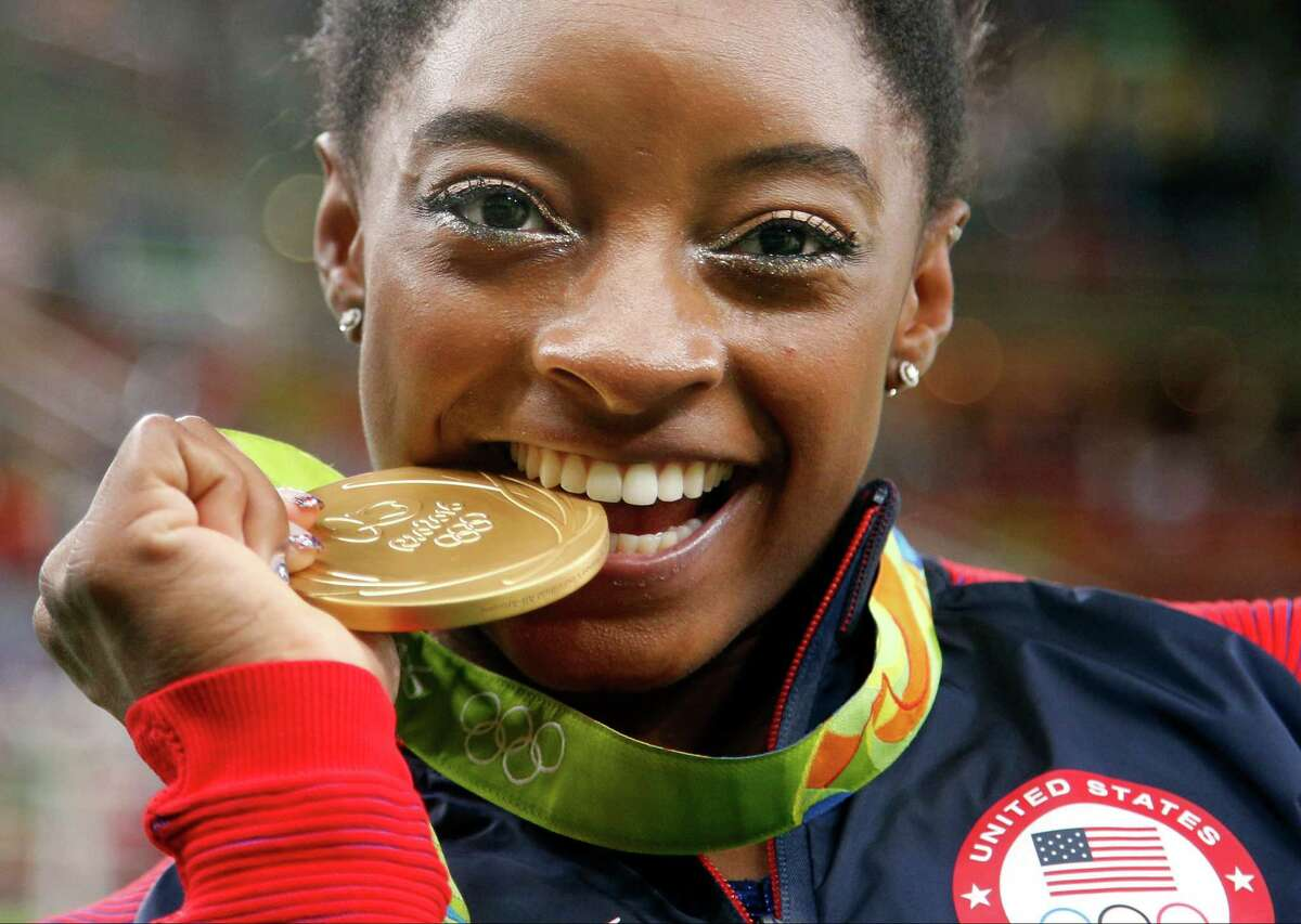 Simone Biles Gymnastics: 4 Golds, Bronze