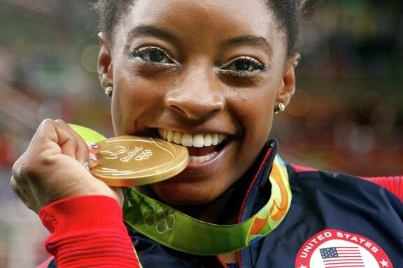 Simone Biles Gymnastics: 4 Golds, Bronze