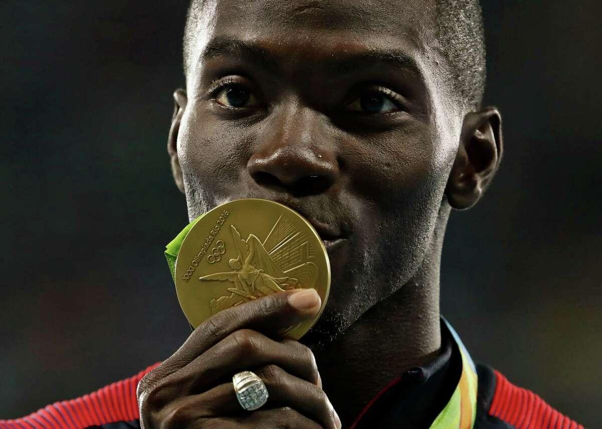Kerron Clement Track: 2 golds