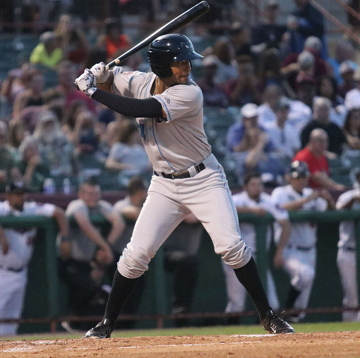 Former Niskayuna star Garrett Whitley, shown playing in a New York-Penn League game in 2016, admits it's been tough not being to follow a normal workout regimen. (Ed Burke/Special to The Times Union)