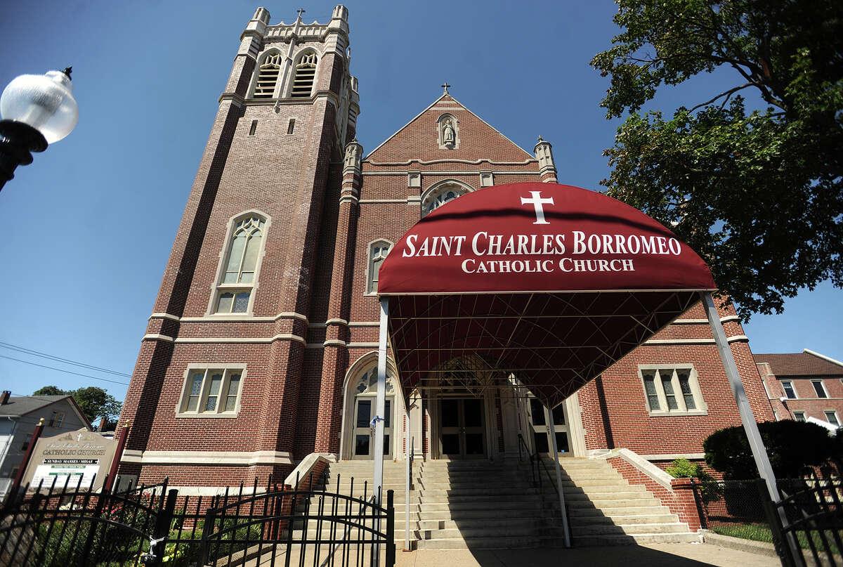 St. Charles Borromeo Catholic Church in Bridgeport, Conn. on Sunday, August 14, 2016.