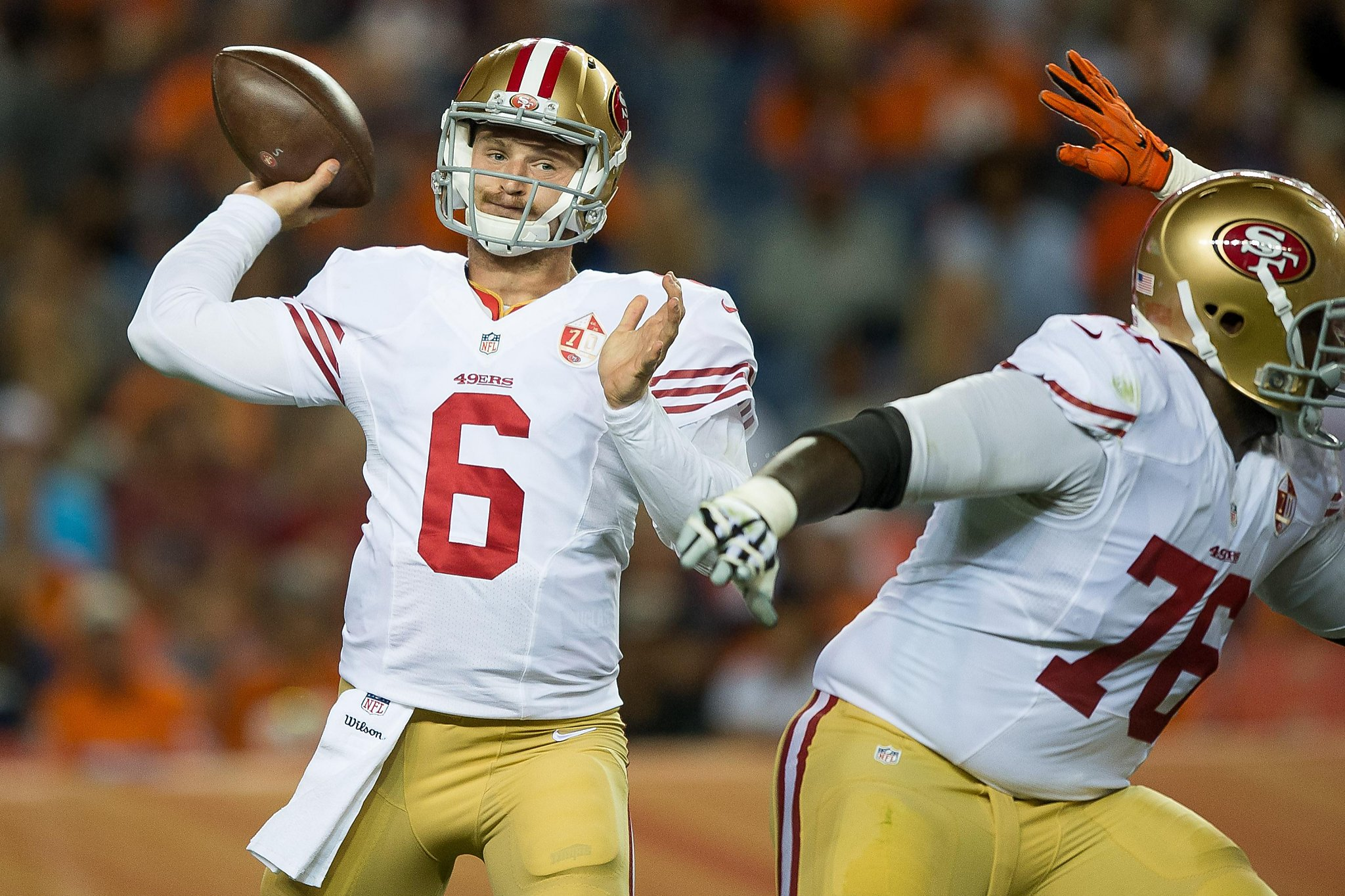 49ers rookie QB Driskel improves after 'dirtball' debut