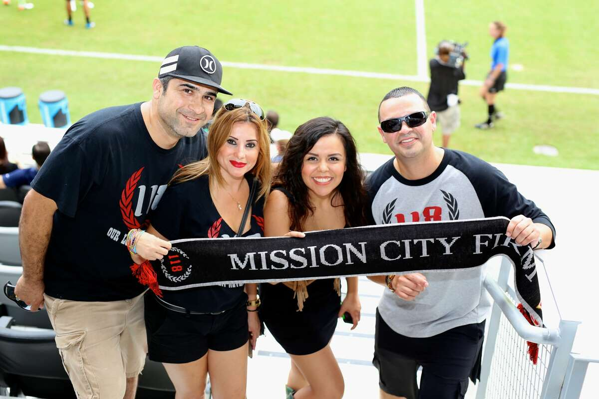 Rain was no deterrent to fans who flooded Toyota Field Saturday, Aug. 20, 2016, to watch and cheer on San Antonio FC as they defeated the Seattle Sounders 1-0.