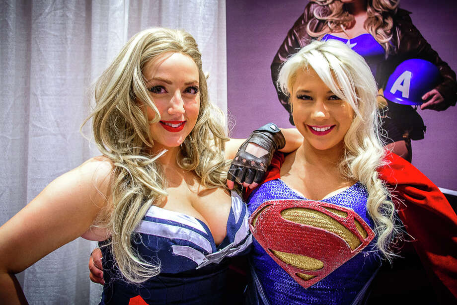 "Terrificon, Connecticut's ""Terrific Comic Con,"" was held at Mohegan Sun on August 19-20, 2016. Comic book and super hero fans interacted with TV and movie stars, listened to panels, dressed up in costumes took photos with classic cars and movie scene recreations and more. Were you SEEN? Photo: Jon Edford / Hearst Connecticut"