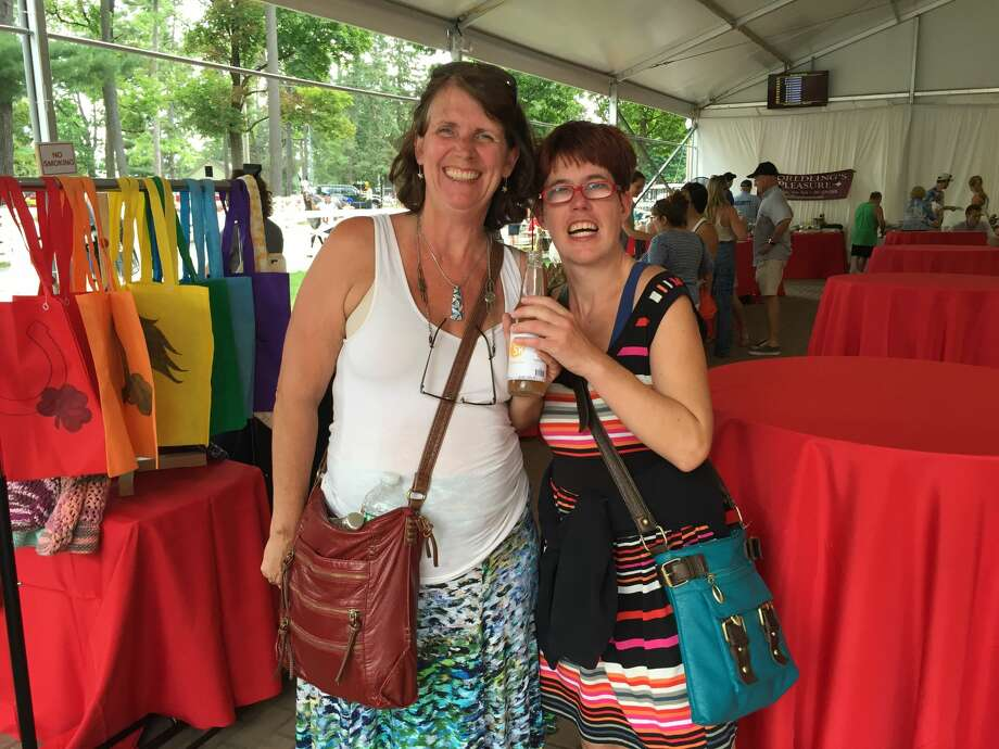 Were you Seen at Taste NY: Food and Artisans at the Saratoga Race Course in Saratoga Springs on Sunday, Aug. 21, 2016?  Photo: Brittany Harran / Ed Lewi Associates