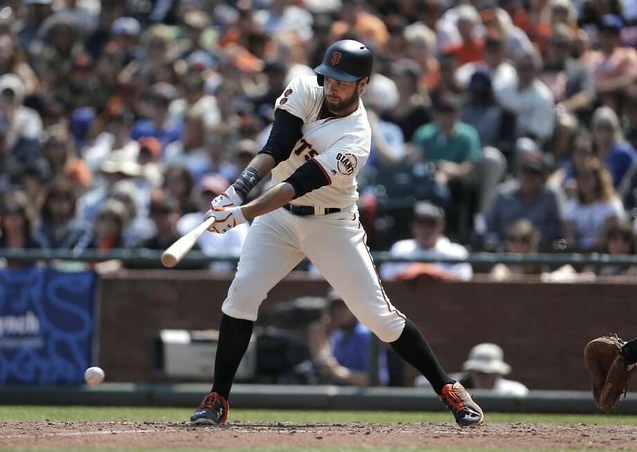 Brandon Belt has struck out nearly more than once every three at-bats while hitting third this year. Photo: Michael Macor, The Chronicle