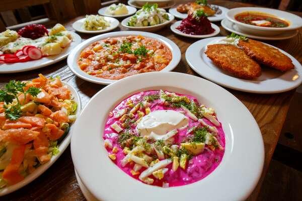 LITHUANIA       Mama Papa Lithuania Restaurant, Alameda.