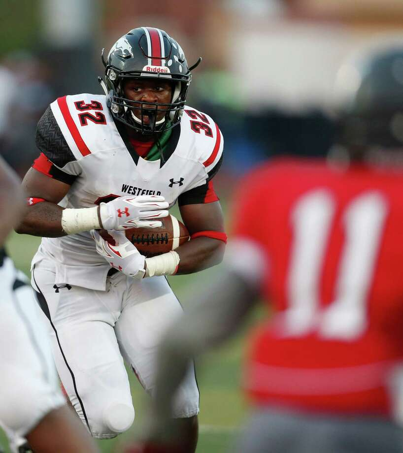 Westfield's Daniel Young has thrived after a move to running back, rushing for 726 yards last season. Photo: Karen Warren, Staff / © 2015 Houston Chronicle
