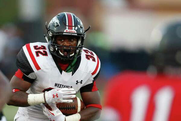 Westfield's Daniel Young has thrived after a move to running back, rushing for 726 yards last season.