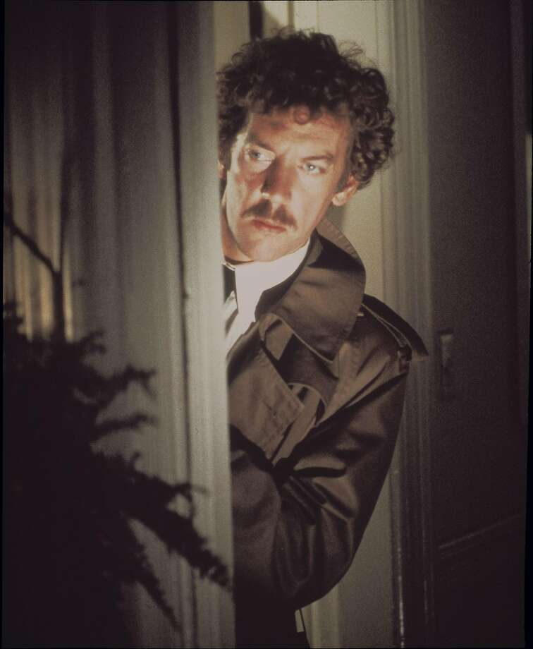 "Donald Sutherland in the 1978 movie, ""Invasion of The Body Snatchers"""