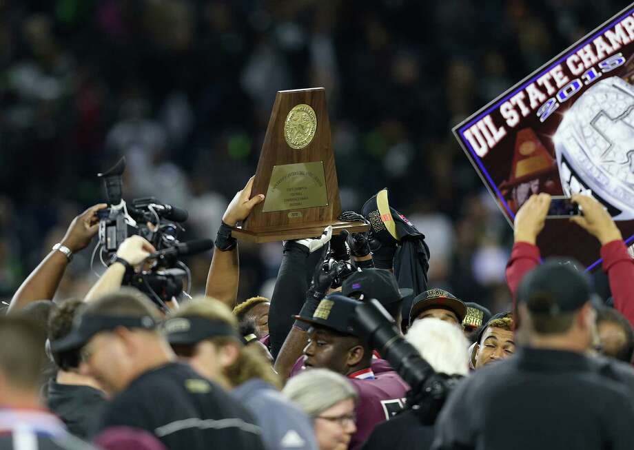 George Ranch rolled to a state championship in Class 5A last season, now it will get a bigger test in 6A. ( Elizabeth Conley / Houston Chronicle ) Photo: Elizabeth Conley, Staff / © 2015 Houston Chronicle