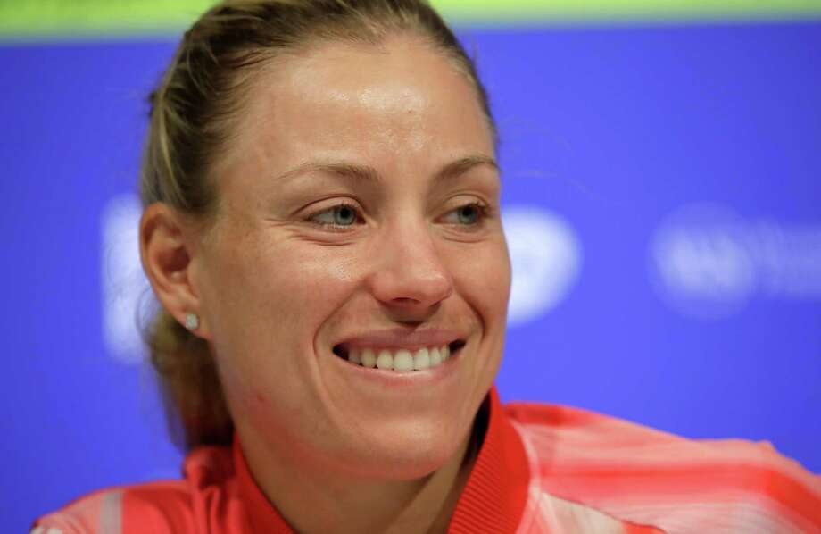 MASON, OH - AUGUST 16:  Angelique Kerber of Germany talks to the media on day 4 of the Western & Southern Open at the Lindner Family Tennis Center  on August 16, 2016 in Mason, Ohio.  (Photo by Andy Lyons/Getty Images) ORG XMIT: 634842747 Photo: Andy Lyons / 2016 Getty Images