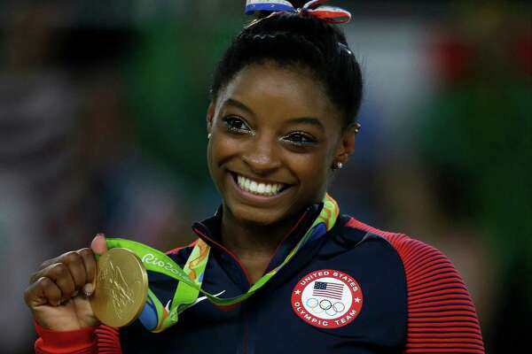 Simone Biles was a picture of poise and grace in winning four gold medals and one bronze.