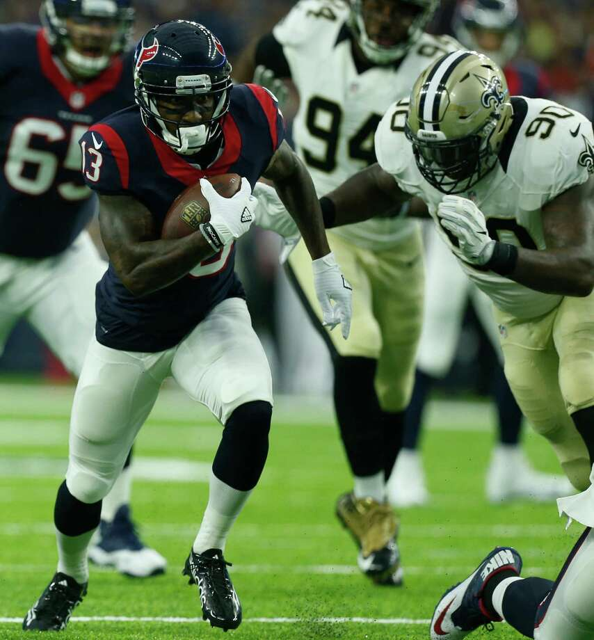 Texans receiver Braxton Miller had three catches against the Saints. Photo: Brett Coomer, Staff / © 2016 Houston Chronicle