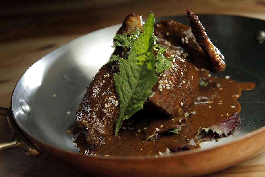 Chef Octavio Diaz's Estofado Mole. Photo: Carlos Avila Gonzalez, The Chronicle