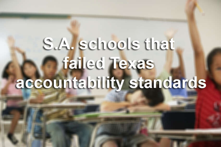30 schools in the San Antonio area failed to meet the state's education accountability standards. Click through the slideshow to which ones. Photo: Courtesy
