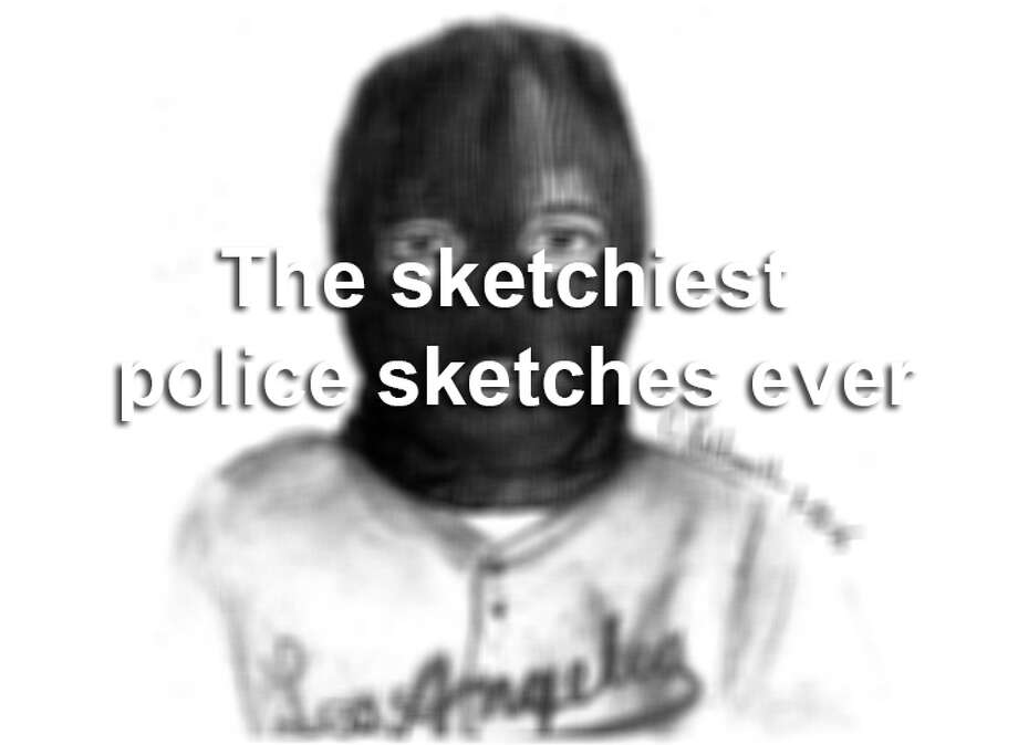Click through the gallery to see some of the funniest police sketches we've ever seen. Photo: Courtesy