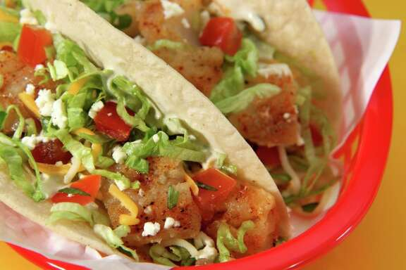 Fuzzy's Taco Shop has opened its fifth store in the Houston area with two more stores (in River Oaks and League City) on the way. Shown: Baja grilled fish tacos.