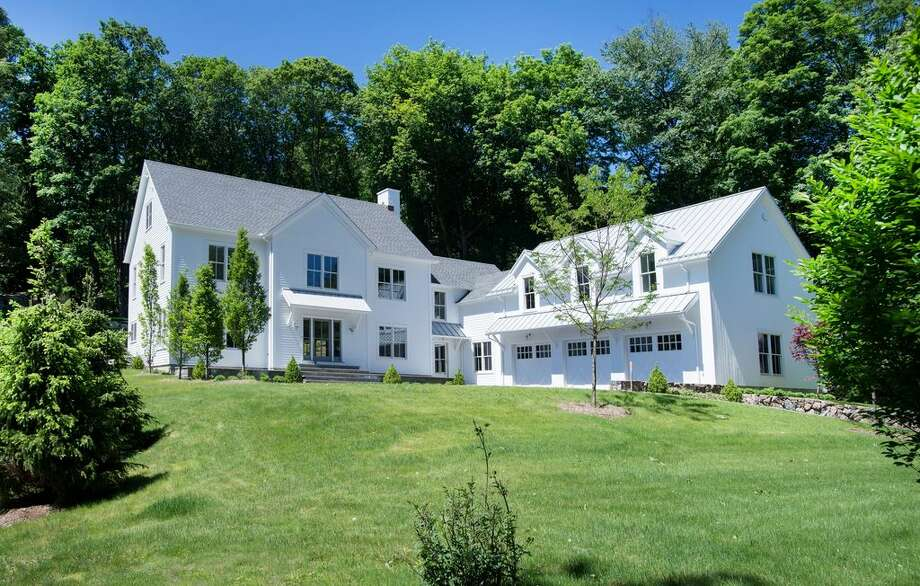 311 Mill Rd, New Canaan, CT 06840 5 beds 5 baths 5,983 sqft Year built: 2016Features: imported French white oak flooring, cathedral ceiling, oak beams, river views View full listing on Zillow Photo: Zillow