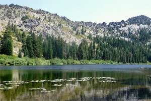 Taylor Lake in the Russian Wilderness in Northern California is one of a handful of wheelchair-accessible lakes in wilderness. It is about a 15-minute walk and can also be used for a backpack trip to Hogan Lake and beyond as off-trail trek to Big Blue Lake. Three lakes, three scopes of challenges.