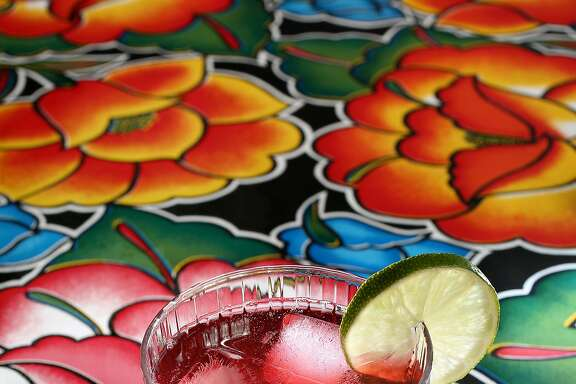 Hibiscus drink on Wednesday, August 17, 2016, in San Francisco, Calif.