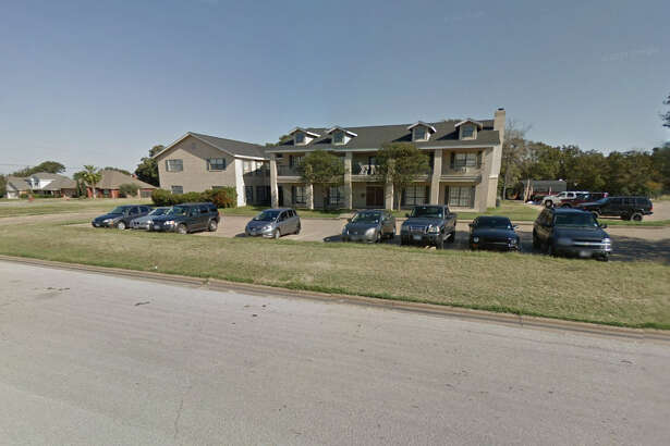 The Sigma Nu fraternity house at Texas A&M in College Station is pictured in this image from Google Maps.