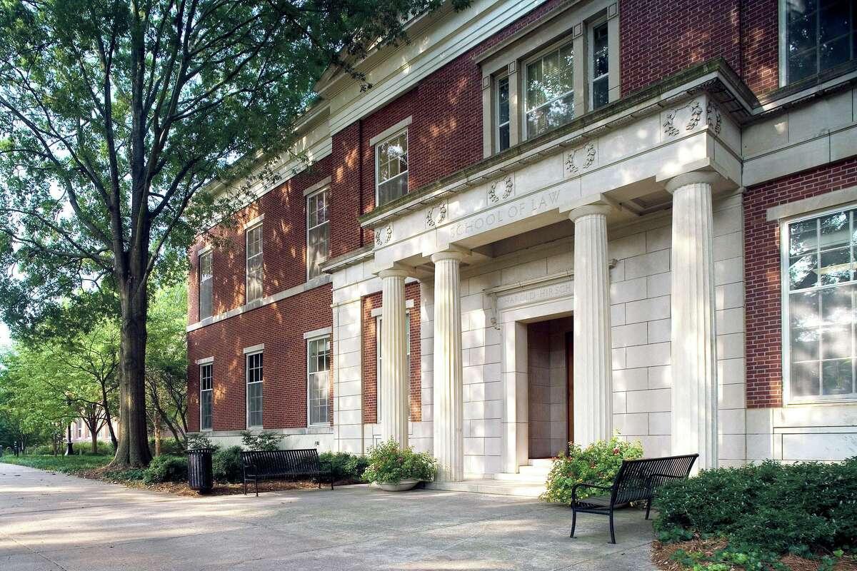 29. University of Georgia School of Law Acceptance rate: 33 percent Median LSAT score: 162 Median undergraduate GPA: 3.71