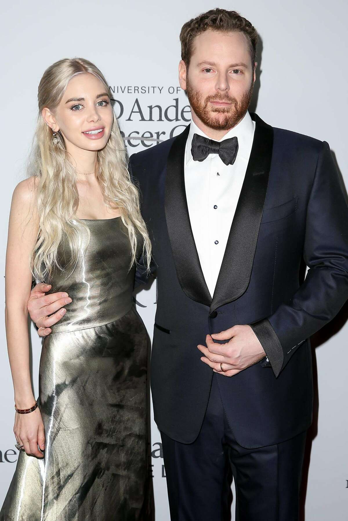 Alexandra Parker, left, and Sean Parker arrive at Sean Parker and the Parker Foundation's Gala Celebrating a Milestone in Medical Research on Wednesday, April 13, 2016, in Los Angeles. (Photo by Rich Fury/Invision/AP)