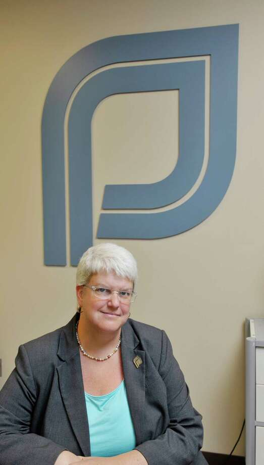 Chelly Hegan, president and CEO of Upper Hudson Planned Parenthood poses for a photograph at the Planned Parenthood office  on Monday, August 31, 2015, in Albany, N.Y.  (Paul Buckowski / Times Union) Photo: PAUL BUCKOWSKI / 00033150A
