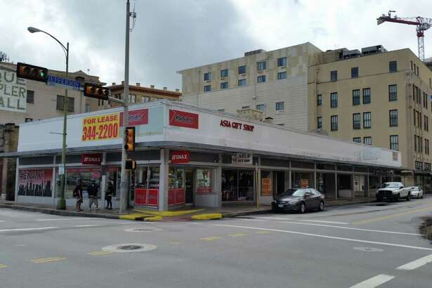 Local developer Mike Litofsky plans to fix up a mostly-vacant retail building next to the St. Anthony Hotel and Travis Park, an area that is undergoing revitalization.