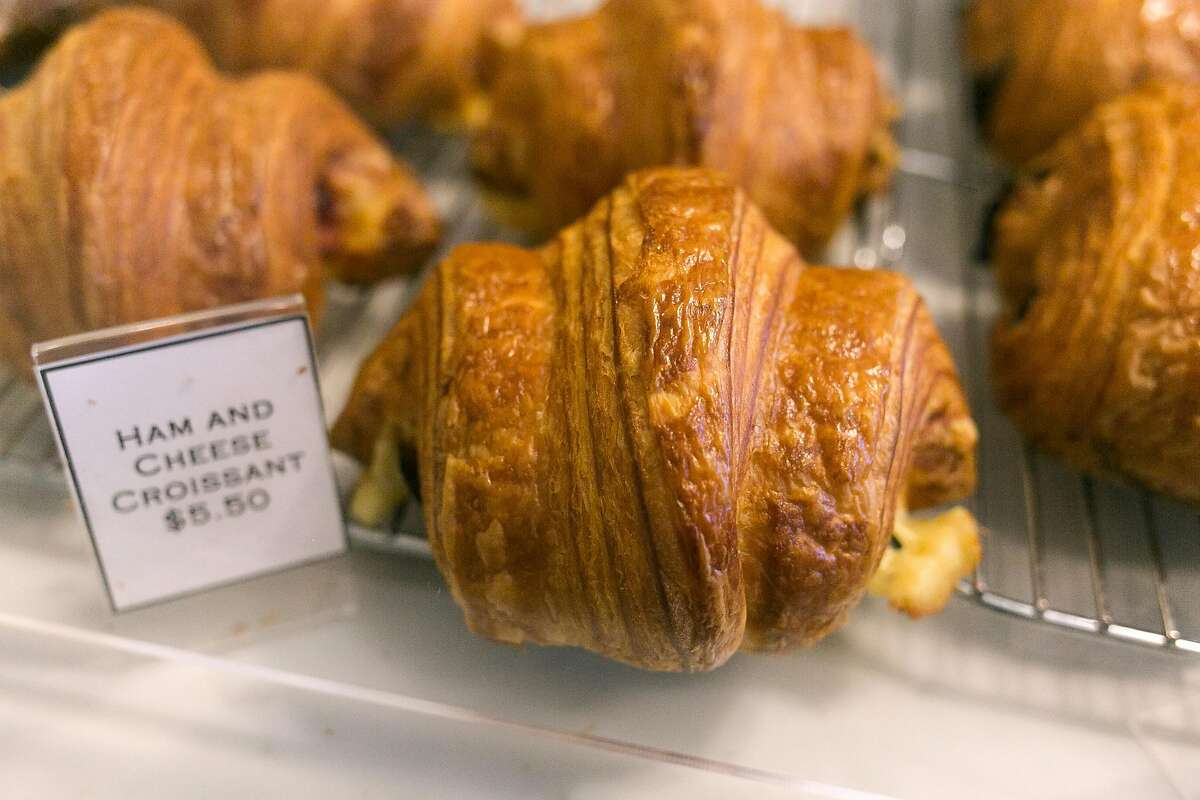 Ham and Cheese croissant at Arsicault Bakery in S.F.