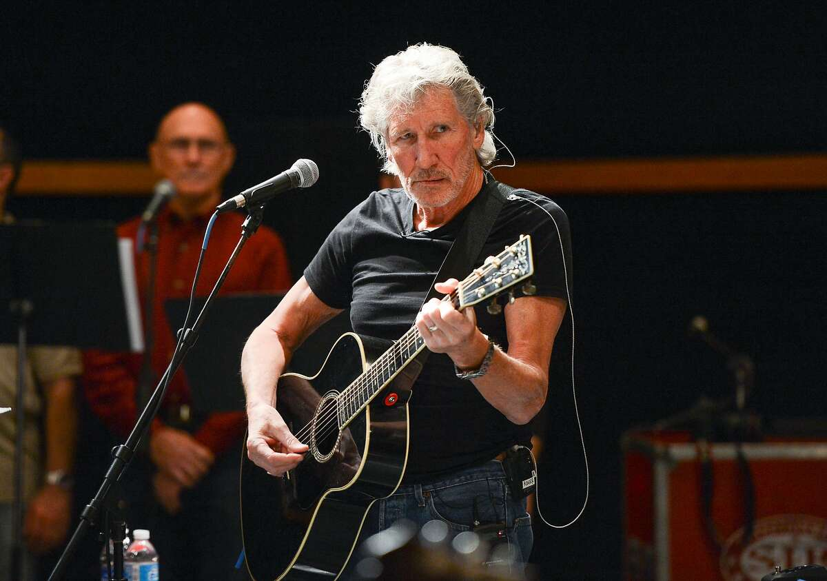 Musician Roger Waters and his band hold rehearsals with members of the Wounded Warriors Project for the