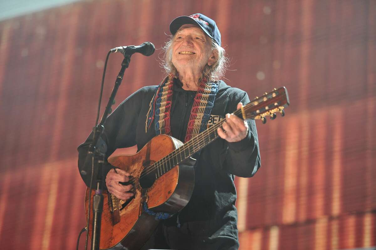 FILE - In this Sept. 19, 2015 file photo, Willie Nelson performs at Farm Aid 30 at FirstMerit Bank Pavilion at Northerly Island in Chicago. Nelson is launching a new music festival in Pennsylvania this fall, where Neil Young and Sheryl Crow will take the stage. The first Outlaw Music Festival will take place Sept. 18 at The Pavilion at Montage Mountain in Scranton. (Photo by Rob Grabowski/Invision/AP, File)
