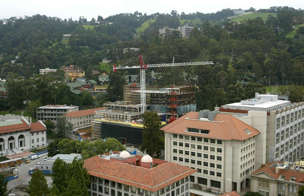 A new building under construction is seen on the University of California at Berkeley campus February 24, 2005 in Berkeley, California. The most selective law schools in the US >>>>>