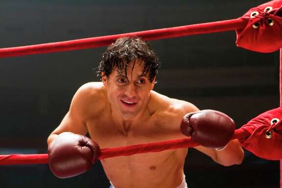 "This image released by The Weinstein Company shows Edgar Ramirez in a scene from, ""Hands of Stone."" (Rico Torres/The Weinstein Company via AP)"