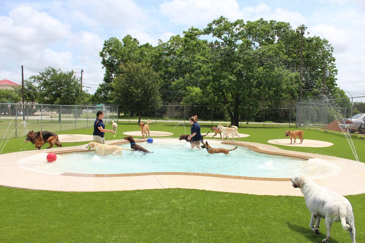 A $700,000 expansion includes a daycare facility and splash pad.