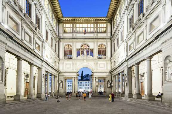 The Uffizi Gallery, an art museum, is considered a must-see in Florence, Italy.