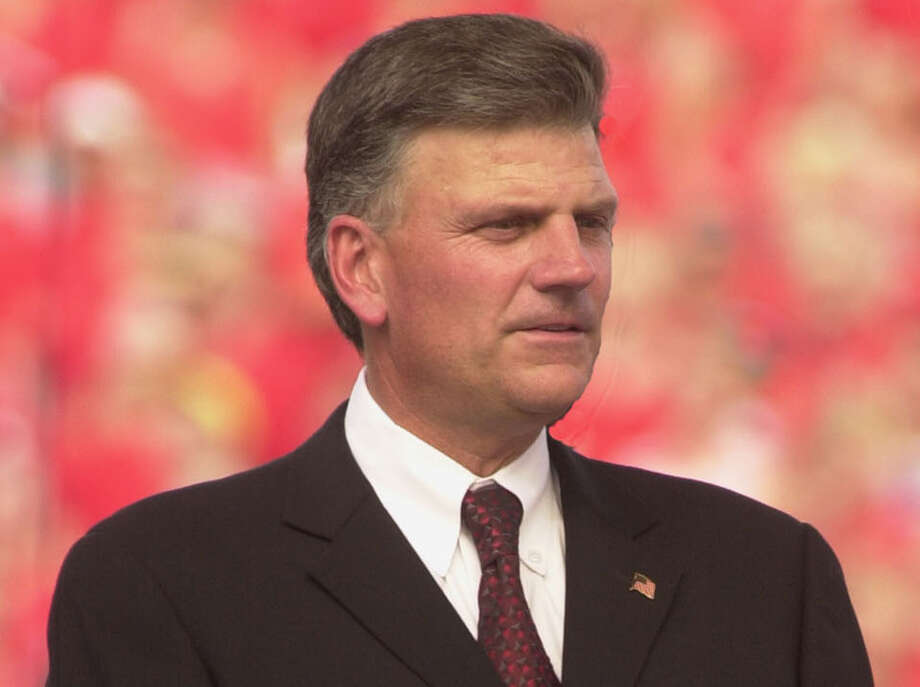 Franklin Graham  (AP Photo/David Kohl) ORG XMIT: MER2016082219145394 Photo: DAVID KOHL / AP