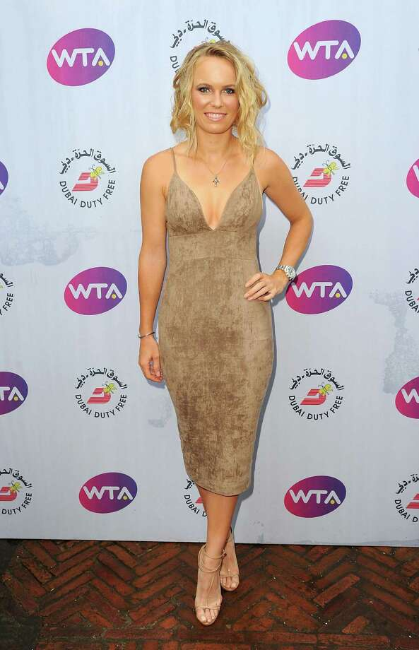 LONDON, ENGLAND - JUNE 23:  Caroline Wozniacki attends the annual WTA Pre-Wimbledon Party presented by Dubai Duty Free at the Kensington Roof Gardens on June 23, 2016 in London, England.  (Photo by Eamonn M. McCormack/Getty Images for WTA Tour ) ORG XMIT: 649277563 Photo: Eamonn M. McCormack / 2016 Getty Images