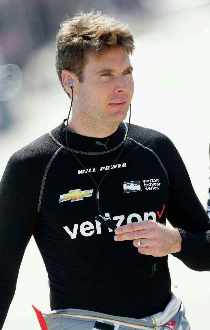 FORT WORTH, TX - JUNE 10:  Will Power of Australia, driver of the #12 Verizon Team Penske Chevrolet, prepares to drive during practice for the Verizon IndyCar Series Firestone 600 at Texas Motor Speedway on June 10, 2016 in Fort Worth, Texas.  (Photo by Brian Lawdermilk/Getty Images for Texas Motor Speedway)