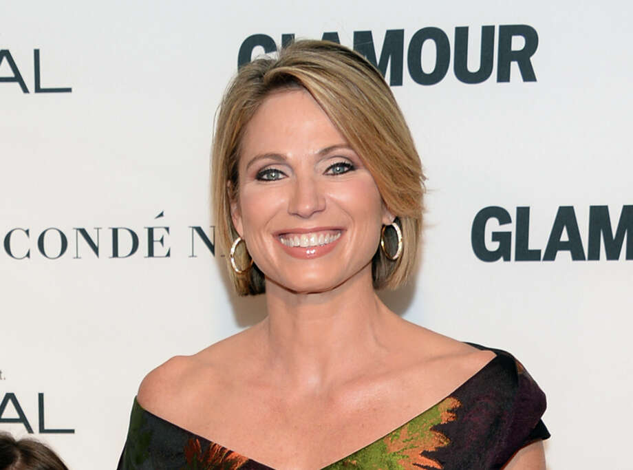 "FILE - In this Nov. 9, 2015 file photo, Amy Robach attends the 25th Annual Glamour Women of the Year Awards in New York.  Robach has apologized for using a term for African Americans on Monday's broadcast of the ABC program. After the broadcast, Robach released a statement explaining she had meant to say ""people of color."" She called the incident ""a mistake"" and ""not at all a reflection of how I feel or speak in my everyday life."" (Photo by Evan Agostini/Invision/AP, File) ORG XMIT: NYET101 Photo: Evan Agostini / Invision"