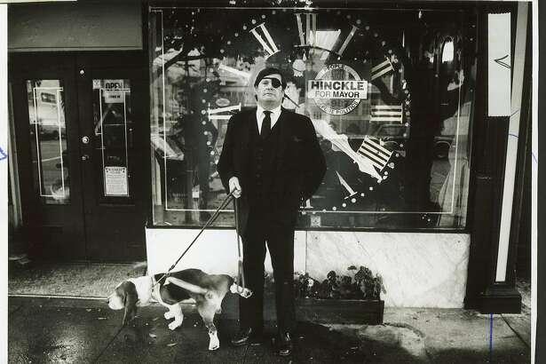 10-13-10_1697 hinckle.jpg  Oct 29, 1987  Warren Hinckle - with dog Bentley
