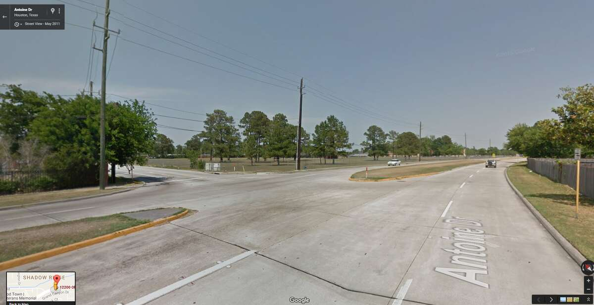 A screenshot of a Google Maps image of the 12200 block of Old Walters Road in Houston, Texas. On Aug. 23, 2016, a hit-and-run collision resulted in multiple injuries in the area.
