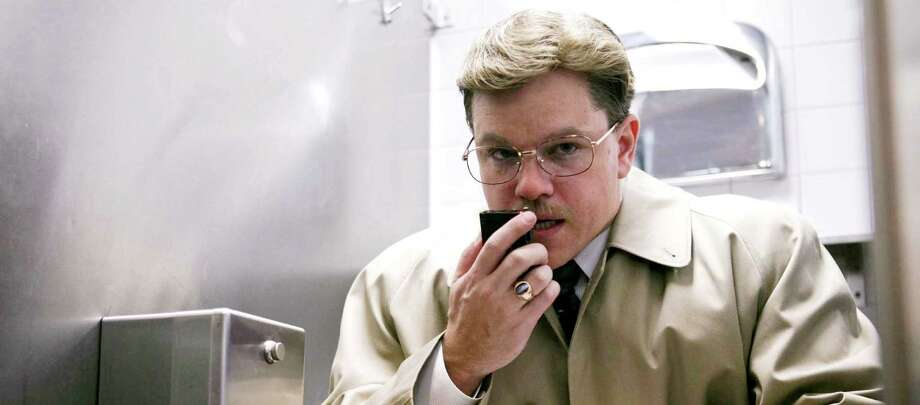"""Matt Damon as Mark Whitacre in the Warner Bros. movie """"The Informant"""" Source: Warner Bros. Photo: Claudette Barius / (c)2008 Warner Bros. Entertainment Inc. All Rights Reserved"""