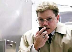 "Matt Damon as Mark Whitacre in the Warner Bros. movie ""The Informant"" Source: Warner Bros."